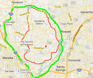 Roswell Zip Code Map.East Cobb Community Thriving Neighborhoods Great Schools