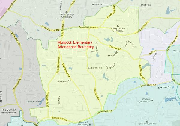 Murdock Elementary School Attendance Zone
